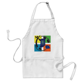 STATE INDIANA MOTTO GEOCACHER ADULT APRON