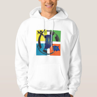 STATE INDIANA MOTTO GEOCACHER HOODIE