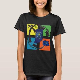 STATE INDIANA MOTTO GEOCACHER T-Shirt