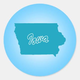State Iowa Stickers