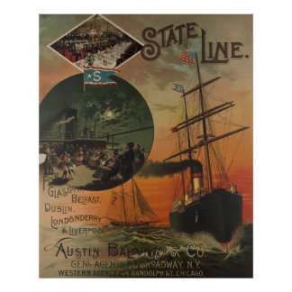 State Line [1869] Poster