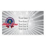 State Line, ID Double-Sided Standard Business Cards (Pack Of 100)
