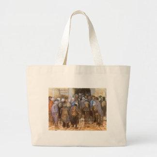 State Lottery Office (Poor Money) Vincent van Gogh Jumbo Tote Bag