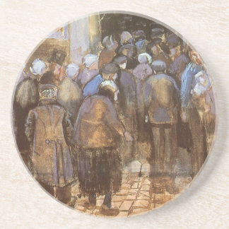 State Lottery Office (Poor Money) Vincent van Gogh Coaster
