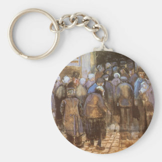 State Lottery Office (Poor Money) Vincent van Gogh Key Chains