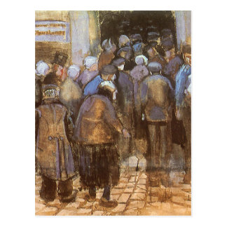 State Lottery Office Poor Money Vincent van Gogh Postcard