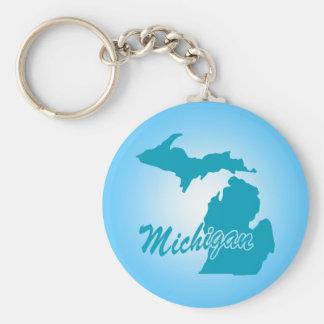 State Michigan Keychains