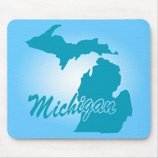State Michigan Mouse Pad