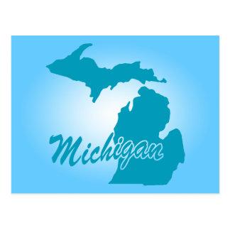 State Michigan Postcard
