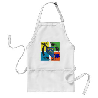STATE NEVADA MOTTO GEOCACHER ADULT APRON