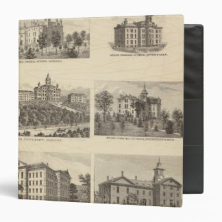 State normal schools and State University Vinyl Binders