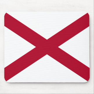 State of Alabama Flag Mouse Pad
