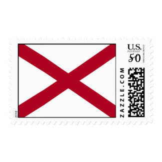 State of Alabama Flag Postage