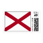 State of Alabama Flag Stamps