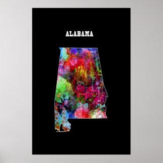 State of ALABAMA Poster