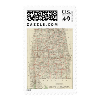 State of Alabama Stamp