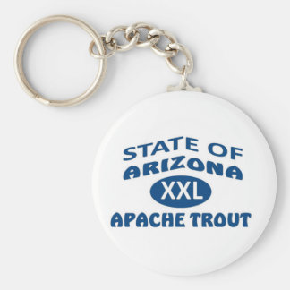 State of Alabama XXL Apache Trout Basic Round Button Keychain