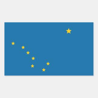 State of Alaska flag Rectangular Sticker