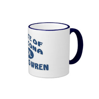 State of Arizona XXL Cactus Wren Coffee Mug