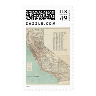 State of California 2 Postage Stamp