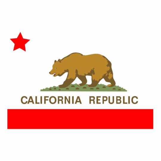 State of California Flag Cutout
