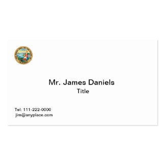 State of California Great Seal Double-Sided Standard Business Cards (Pack Of 100)