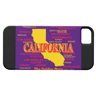 State of California Map, Los Angeles, San Diego iPhone SE/5/5s Case
