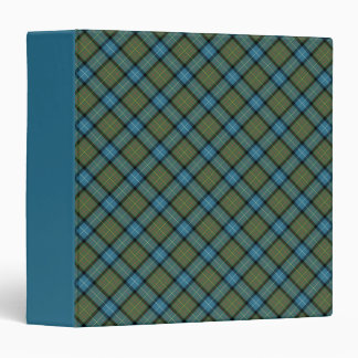 State of California Tartan Binder