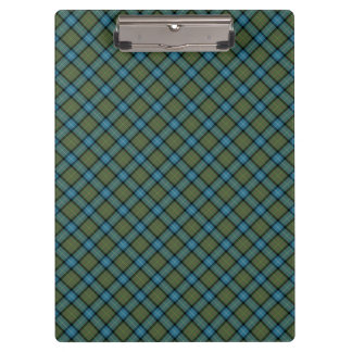 State of California Tartan Clipboard