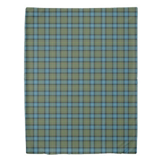 State of California Tartan Duvet Cover