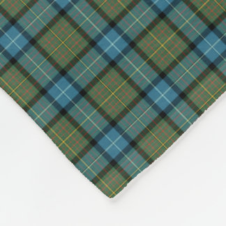 State of California Tartan Fleece Blanket