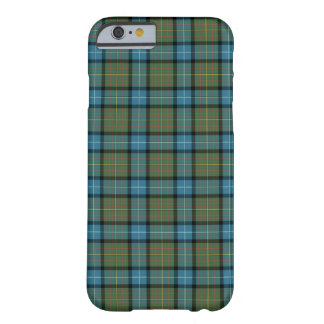 State of California Tartan Pattern Barely There iPhone 6 Case
