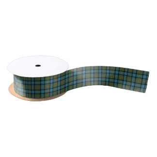 State of California Tartan Satin Ribbon