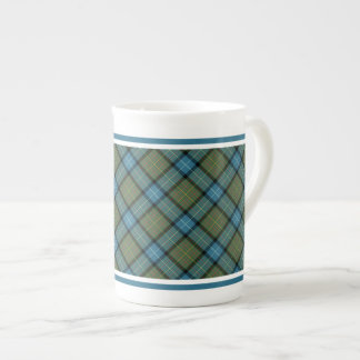 State of California Tartan Tea Cup