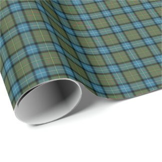 State of California Tartan Wrapping Paper