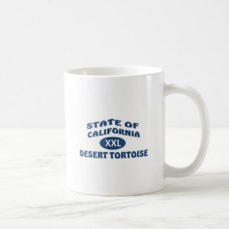 State of California XXL Desert Tortoise Classic White Coffee Mug