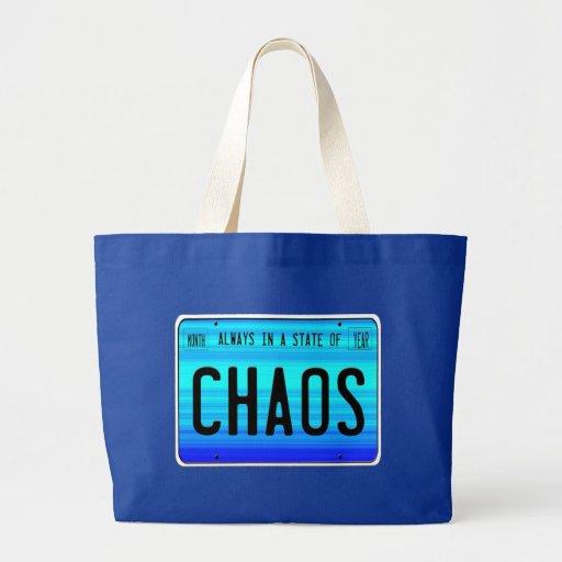 State of Chaos Jumbo Tote Bag
