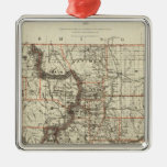 State of Colorado Christmas Tree Ornaments