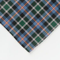 State of Colorado Tartan Fleece Blanket