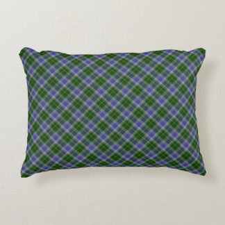 State of Connecticut Tartan Accent Pillow
