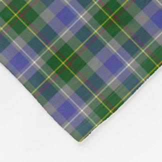 State of Connecticut Tartan Fleece Blanket
