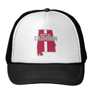 State Of Crimson Trucker Hat