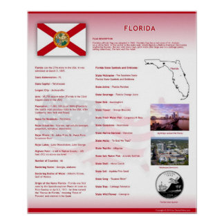 State of Florida,FL Posters