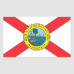 State of Florida flag Sticker