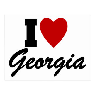 State of Georgia Gifts and Tees for Kids, Adults Postcards