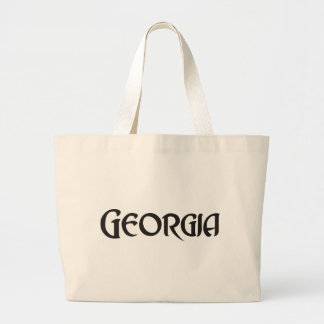 State of Georgia Large Tote Bag