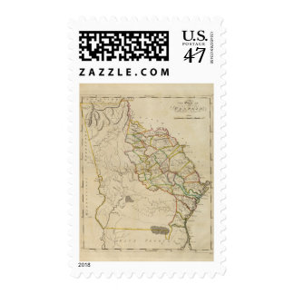 State of Georgia Postage Stamp