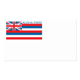 State of Hawaii flag Business Card Templates