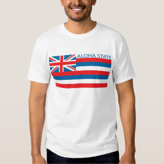 State of Hawaii flag Tee Shirt
