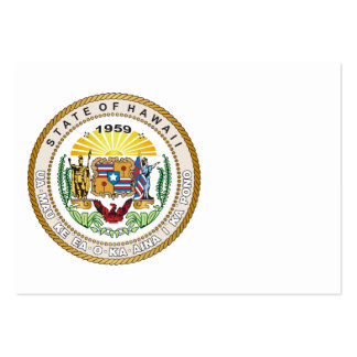 State of Hawaii Great seal Large Business Card